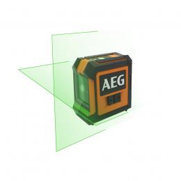 AEG Pack niveau laser croix vert 2 lignes CLG220-K (4935472254)