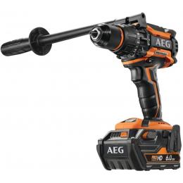 AEG BSB 18BLLI-602C Perceuse à percussion Brushless 18V 140 Nm 2x6.0Ah HD (4935464100)
