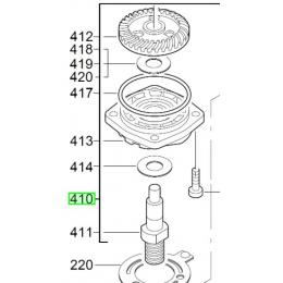 Milwaukee Flasque de palier pour meuleuse AG8-125, AG8-115, AG9-125 (4931358682)