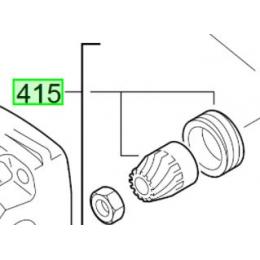 Milwaukee Pignon pour meuleuse AG8-125, AG8-115, AG9-125 (4931385587)