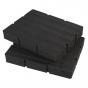 Milwaukee x2 Inserts en mousse pour coffret à tiroirs Packout (4932479157)