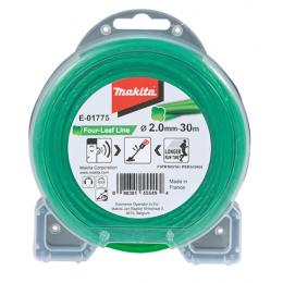 Makita Bobine de fil nylon hélicoïdal pour coupe-bordure ø2mm x 30ml (E-01775)