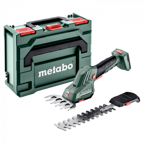 Metabo Cisaille, Sculpte-haie SGS 18 LTX Q avec coffret METABOX 145 L (601609840)