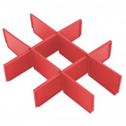 Milwaukee Séparateurs de tiroirs pour boîte à outils à 3 tiroirs Packout (4932479104)