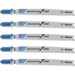 Bosch Lames de scie sauteuse métal T123X Progressor for métal (2608638473)