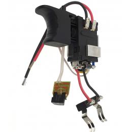 Ryobi Interrupteur pour perceuse 18V R18PD3, R18DD3, R18DDJS, R18DDID, R18CK3C, R18DDAG (5131041006)