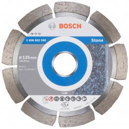 Bosch 2608602598 Disques à tronçonner ø125mm diamantés Standard for Stone