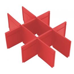 Milwaukee Séparateurs de tiroirs pour boîte à outils à 2 tiroirs Packout (4932479105)