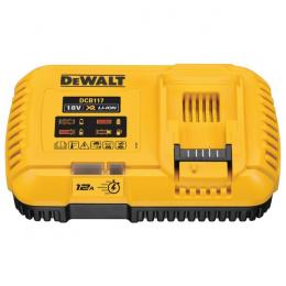 Dewalt DCB117-QW Chargeur Rapide 12Ah XR Li-Ion 18V et 54V