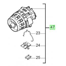Milwaukee Boite à vitesse pour perceuse 18V M18FDD (4931453216)
