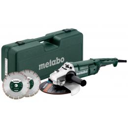 Metabo WEP 2200-230 SET Meuleuse d'angle ø230mm 2200W avec disque diamant (691082000)