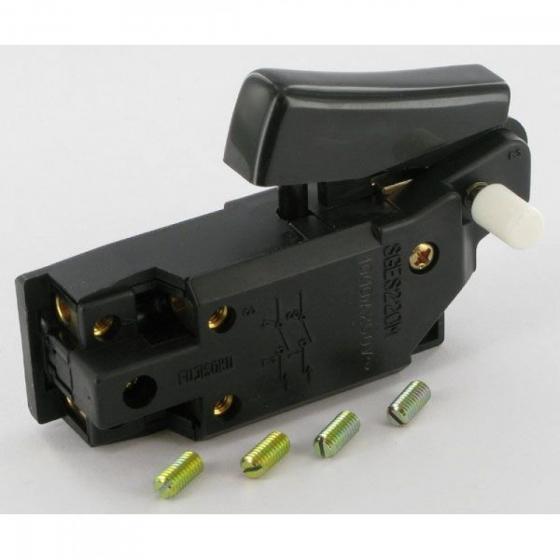 Hitachi 937985Z Interrupteur SGE220M pour meuleuse G18SC, G18SE, G23SA, PDU230, CC12Y