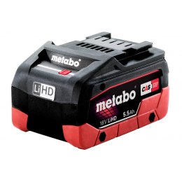 Metabo Batterie Li-ion 18V 5.5Ah Li-HD (625368000)