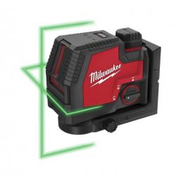 Milwaukee L4 CLL-301C Laser 2 Vert Lignes USB 1x3.0Ah (4933478098)