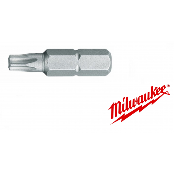 Embouts TX40 - 25mm MILWAUKEE
