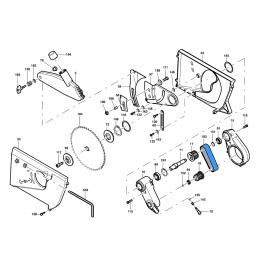 Mafell Courroie pour scie à métaux ERIKA70E, ERIKA85E, ERIKA85C  (077002)