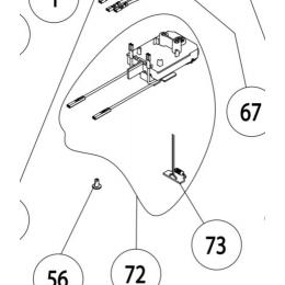 Virutex Circuit électronique 230V ponceuse RT188N (8846332)