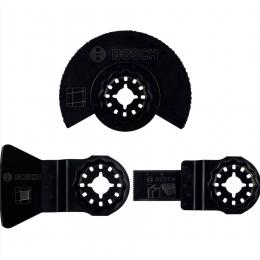 Bosch Set de 3 Lames carrelage pour outil multifonction STARLOCK (2607017324)