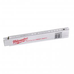 Milwaukee Mètre pliant fine bois 2m x 16mm (4932459302)