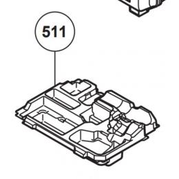 Hikoki Moulage visseuse ou perceuse 18V sans fil pour coffret Hit-Case Taille 2 (376502)