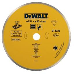 DeWalt Disque diamant ø250mm pour le carrelage (DT3733-XJ)
