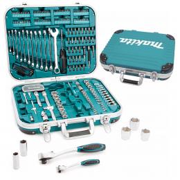 Makita Coffret d'outils 227 pièces avec mallette de transport P-90532