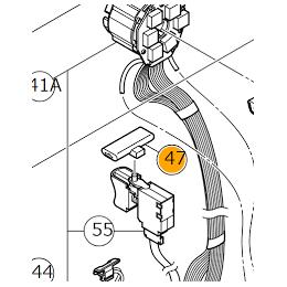 Hikoki Bouton Inverseur de perceuse DS18DBSL, DV18DBSL, DS14DBL2, DV14DBL2 (339768)