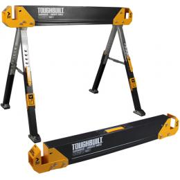 Toughbuilt Pack de 2 tréteaux-table de chantier TB-C650