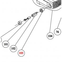 Virutex Porte balais pour scie TM33L (3318025)