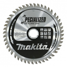 """Makita B-33015 Lame Carbure Bois ø165x20x2.2mm 48dts """"SPECIALIZED"""""""