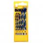 Dewalt DT4535 Coffret de 5 mèches à bois 3 Pointes