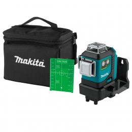 Makita SK700GDZ Niveau laser à croix vert 3 x 360° 12V CXT