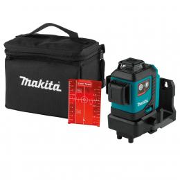 Makita SK700DZ Niveau laser à croix rouge 3 x 360° 12V CXT