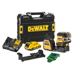 DeWALT DCE822D1G18-QW Laser croix vert et aplomb XR 12V et XR 18V 1x2.0Ah