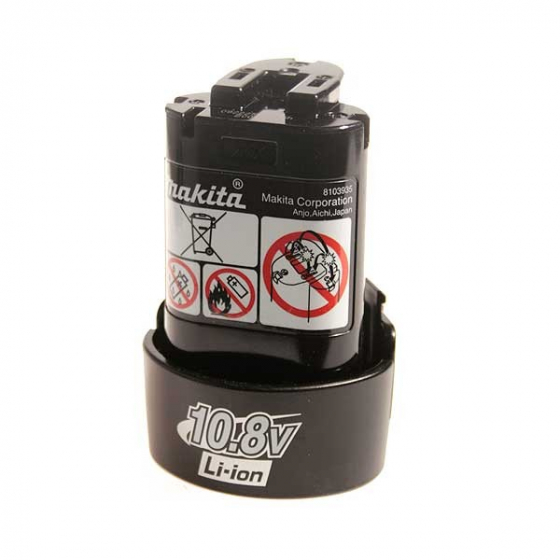 Makita Batterie BL1013 Li-Ion 10,8 V / 1,3 Ah