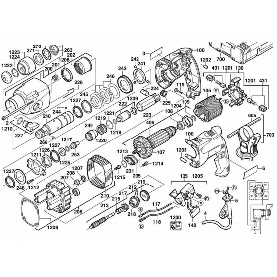 Marteau Perforateur AEG PN2000R