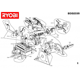 Ryobi Tronçonneuse ECO2335