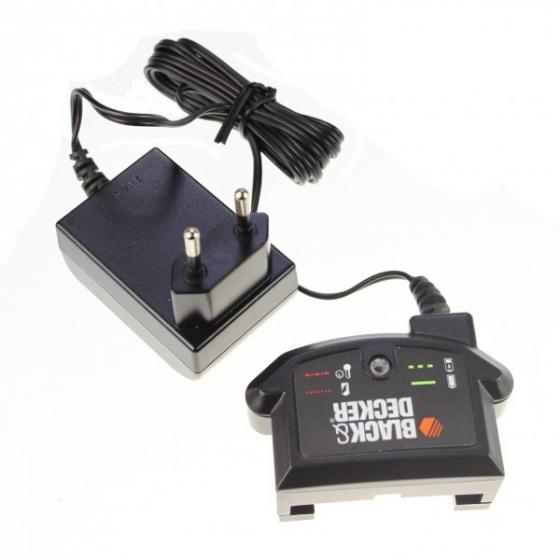 Black decker 90590287 chargeur de batteries 8 20v li for Taille bordure batterie lithium