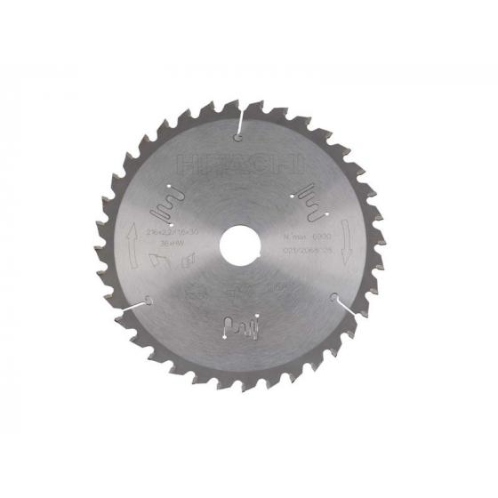Hitachi Lame de Scie circulaire ø216mm 36Dts 752447