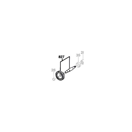 Bosch Couronne d'angle 2606333900