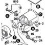 BOSCH 1619PA0206 Charbons, Jeu de balais GTS 10