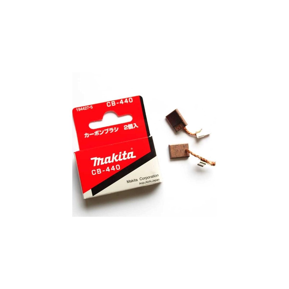 6503d eh-450 uh3000 9514bh Moteur 2x Charbon 5 x 8 x 11 mm pour Makita 4320