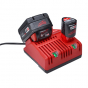 Milwaukee Pack NRJ avec 2 Batteries 18V 4.0Ah 4933448571
