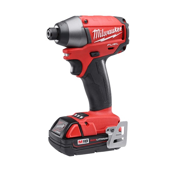 Milwaukee M18CID202C Visseuse à choc 18V FUEL 2x2.0Ah (4933440525)