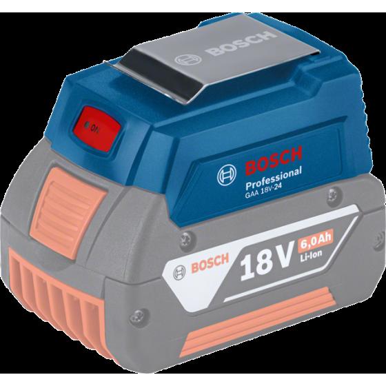 Bosch GAA18V-24 Professional Chargeur USB (1600A00J61)