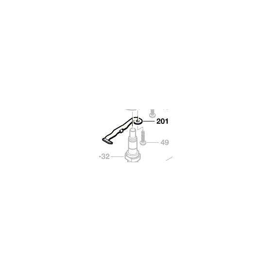 Bosch Ressort à Lame 2609002205