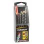 Diager Coffret plastique 5 Forets Béton OPTIMA 3+ 263B