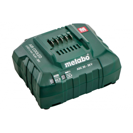 "Metabo ASC30-36 Chargeur Ultrarapide ""Air Cooled""14.4V à 36V 627044001"