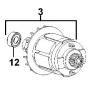 Dewalt Induit 18V 1007802-00 DC720K, DC721K, DC722, DC725K, DC727, DC727K