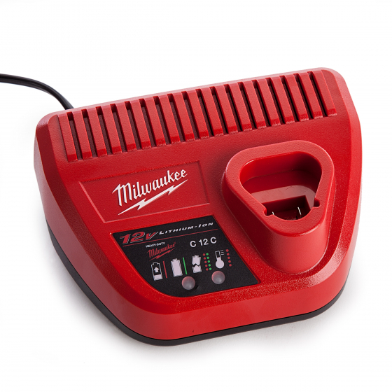 Milwaukee C12C Chargeur de Batterie 12V Li-ion (4932352000)